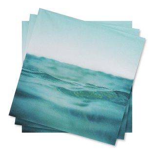 SERVIETTER SEA 33X33CM 20PK-100310