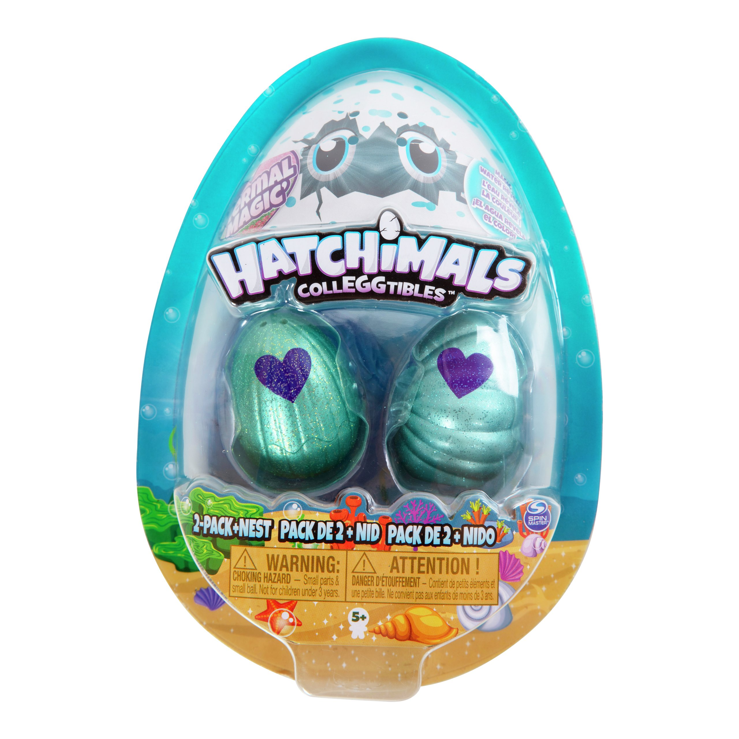 HATCHIMALS COLLEGGTIBLES S5 2PK-100388