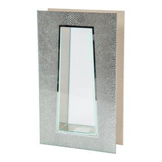 SPARKLE GLASSVASE H25CM-100518