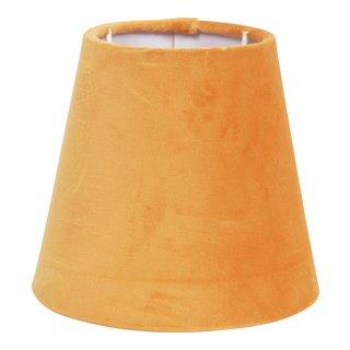 VELVET LAMPESKJERM OKER H:13CM,Ø:14CM-101181