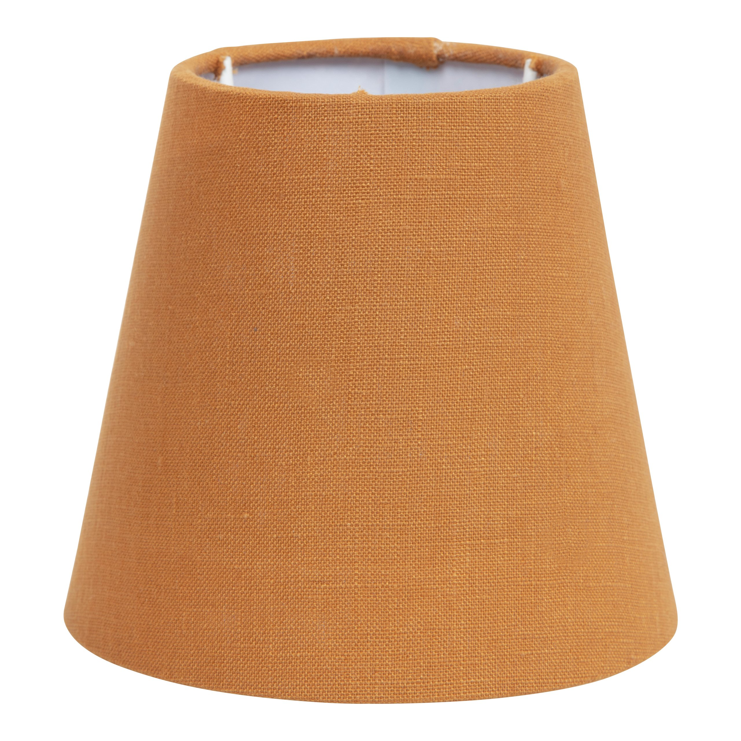 LINEN LAMPESKJERM OKER H:13CM-101188