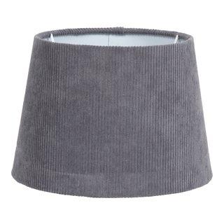 CORD LAMPESKJERM GRÅ H:16CM-101200
