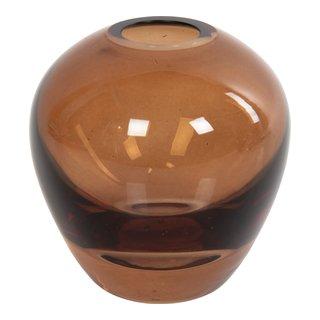 SOMA GLASSVASE H8CM BRUN-101282