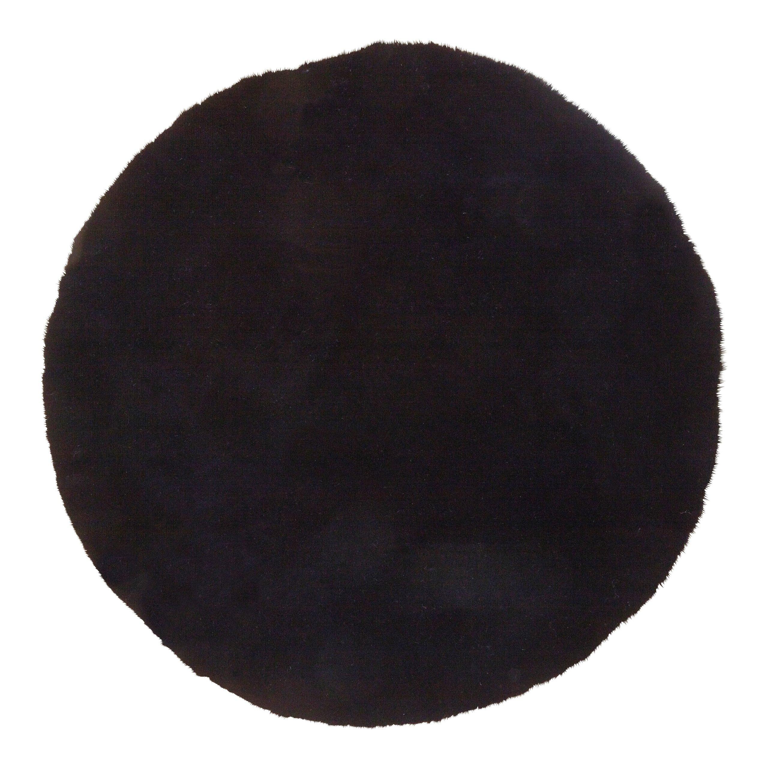 BLACK BEAUTY TEPPE Ø80CM SORT-101562
