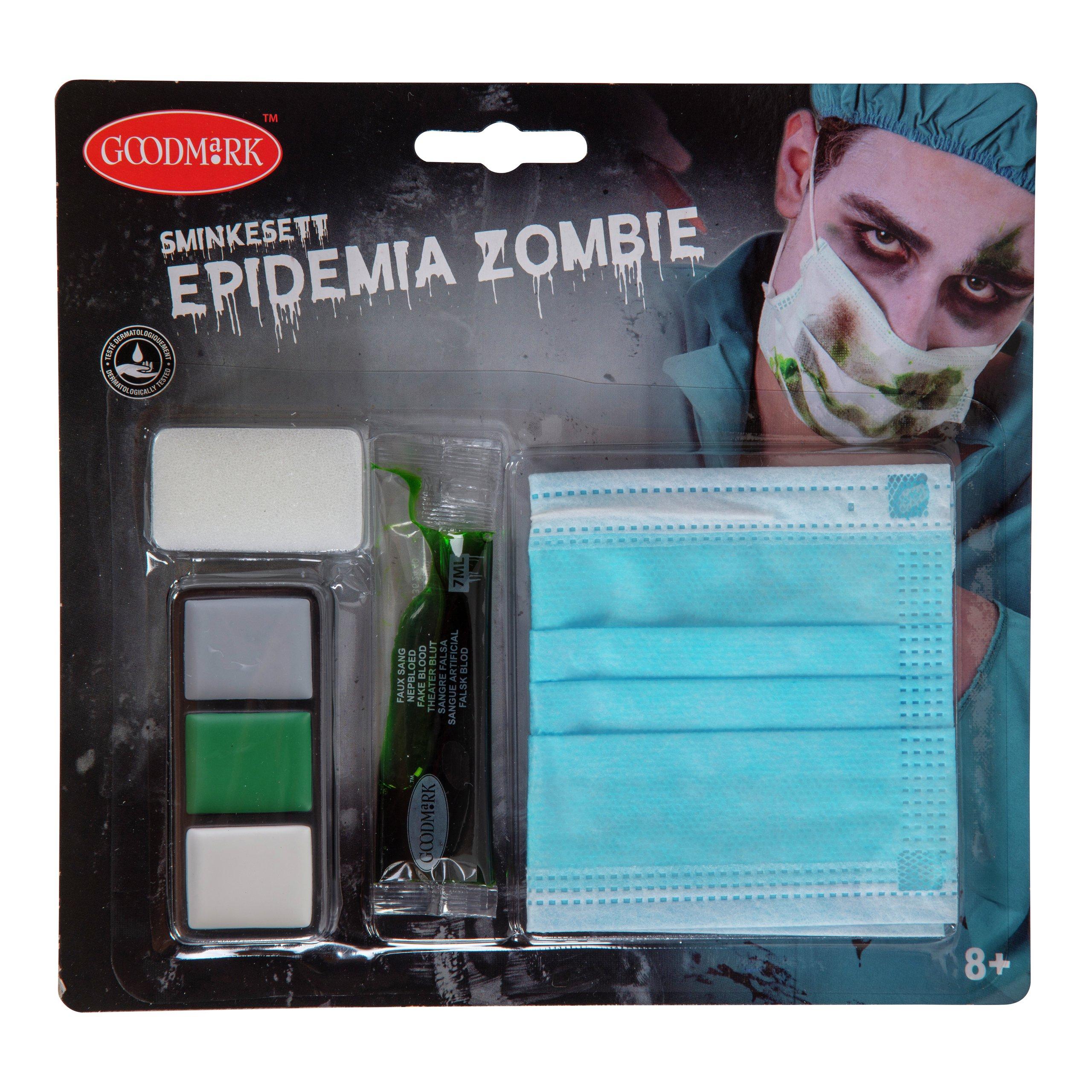 SMINKESETT EPIDEMIA ZOMBIE -102084