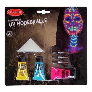 SMINKESETT UV HODESKALLE-102085