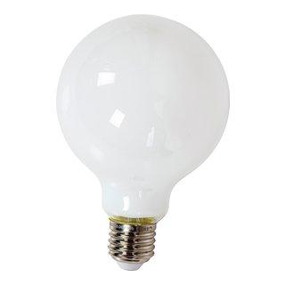 MATTHVIT LED DEKORPÆRE RUND G125 E27-102456