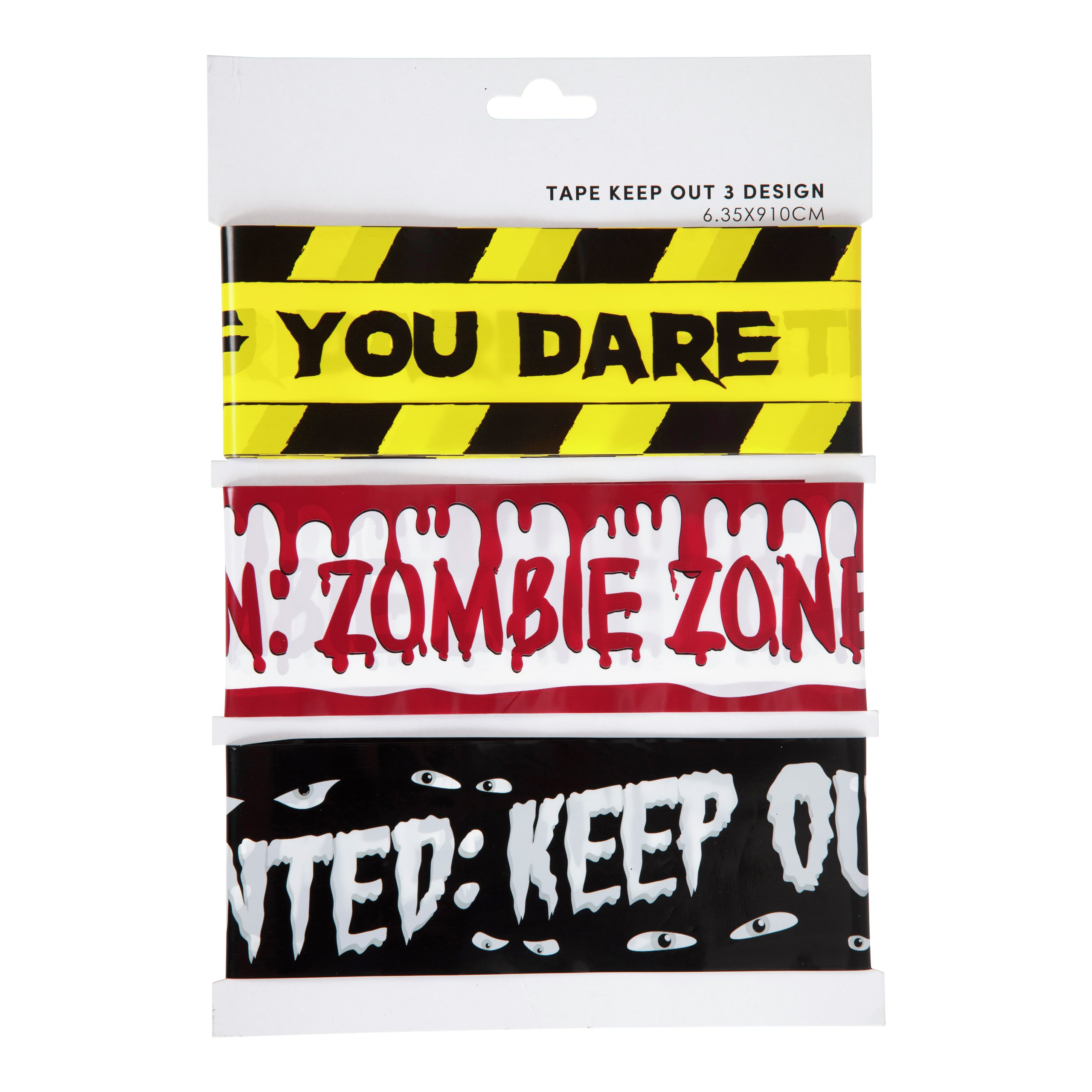 HALLOWEEN TAPE KEEP OUT 3 DESIGN-102543
