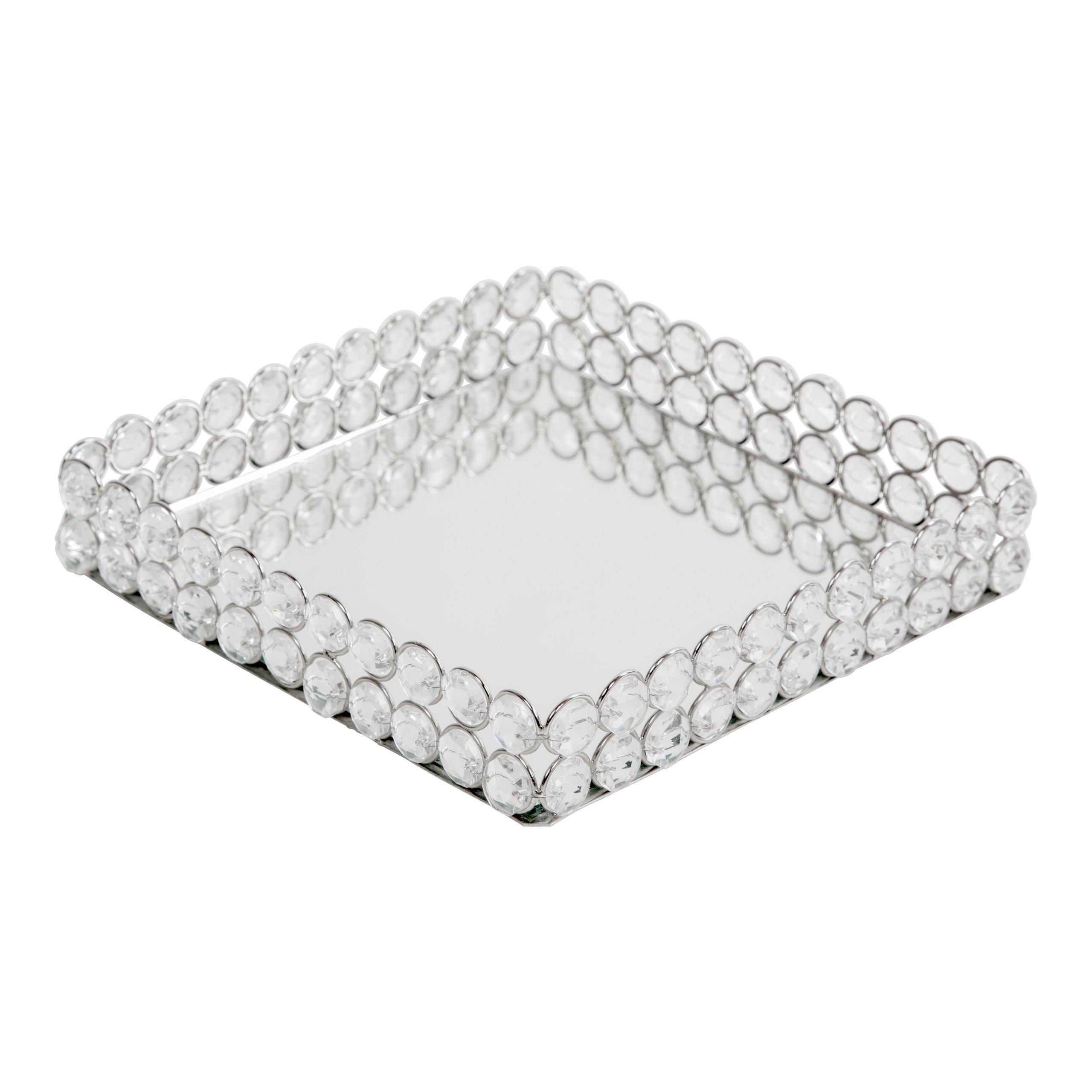 DIAMOND SERVIETTHOLDER 18X18CM -102847