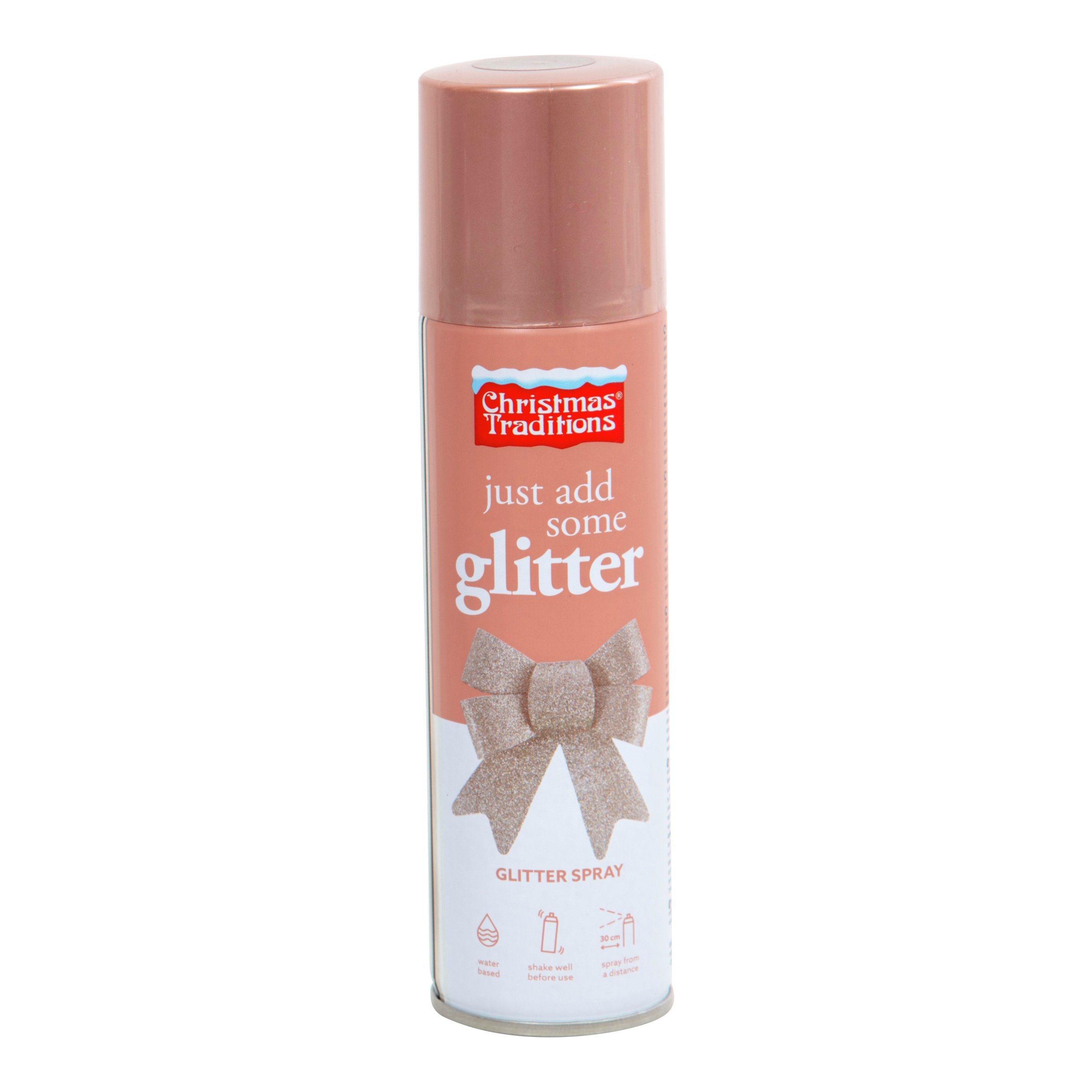 DEKOR GLITTER ROSEGULLSPRAY 100ML-103443