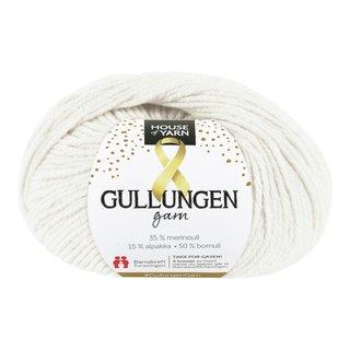 GULLUNGEN GARN 101 HVIT 50GR-103486