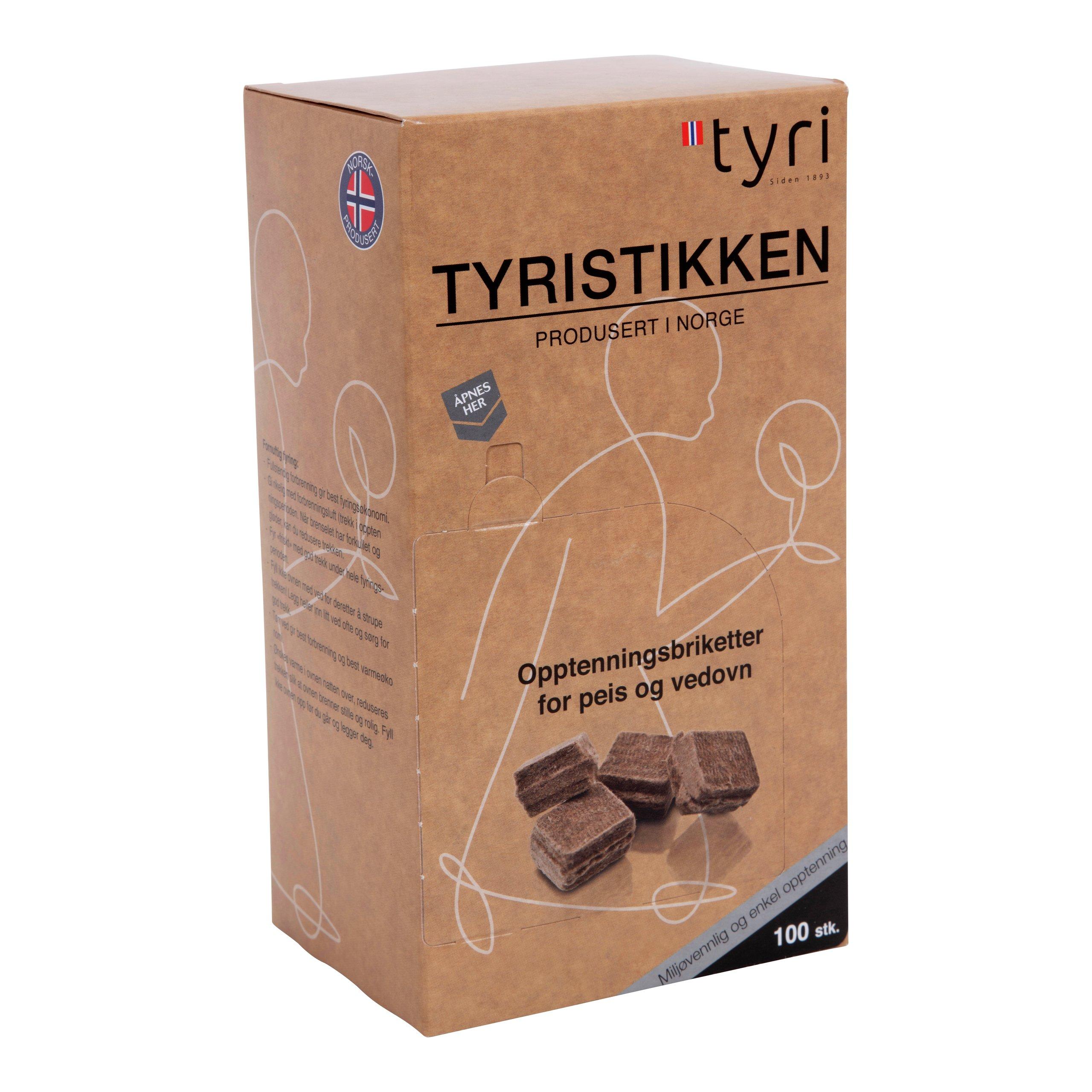 TENNBRIKETTER 100PK TYRISTIKKEN-103625