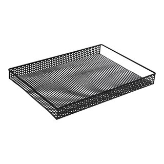 DOT ARKOPPBEVARING 28X38CM METALL SORT-103836