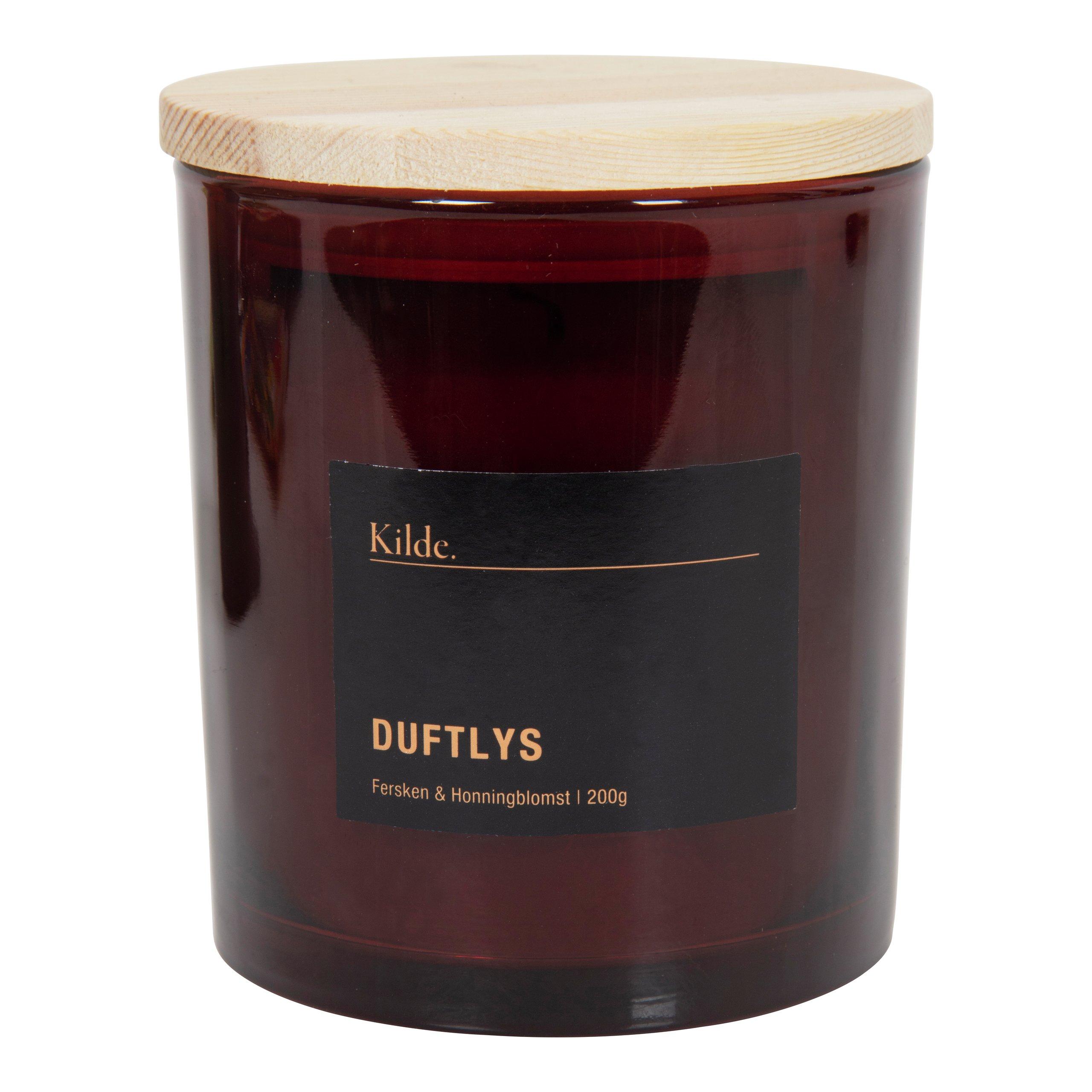 KILDE DUFTLYS FERSKEN & HONNINGBLOMST 200G-104853