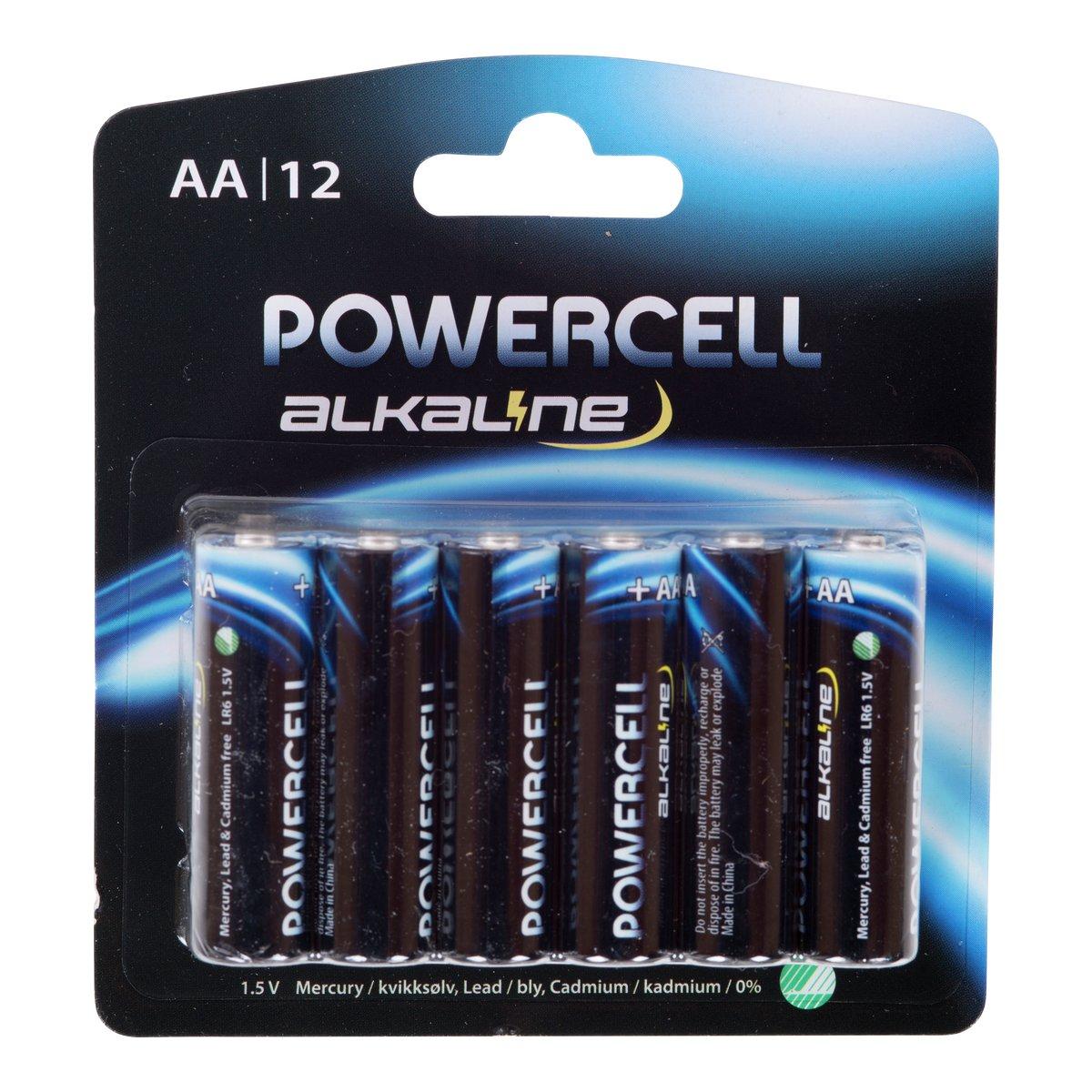 Batterier 12pk