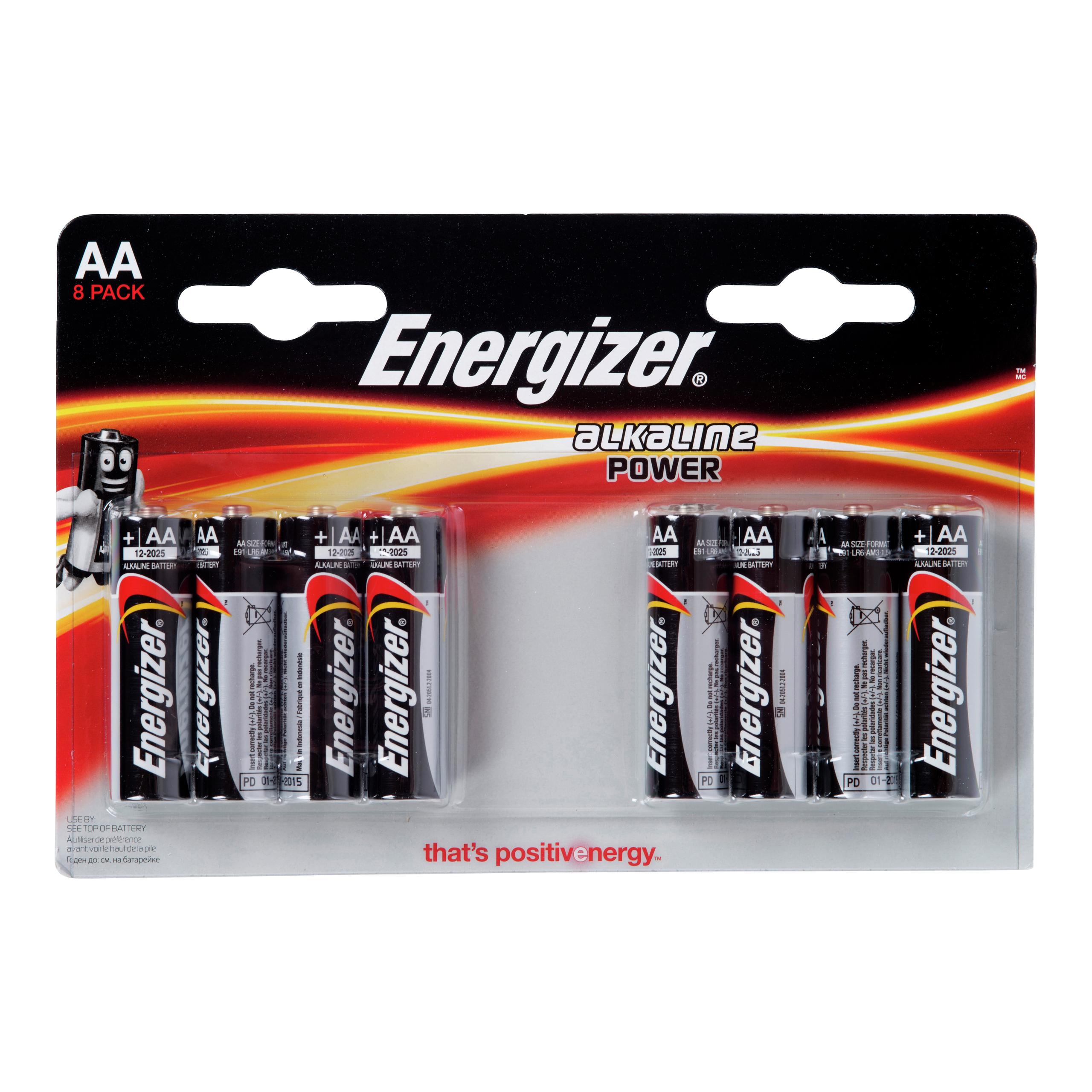 ENERGIZER CLASSIC LR-6 AA 8PK-BAT604