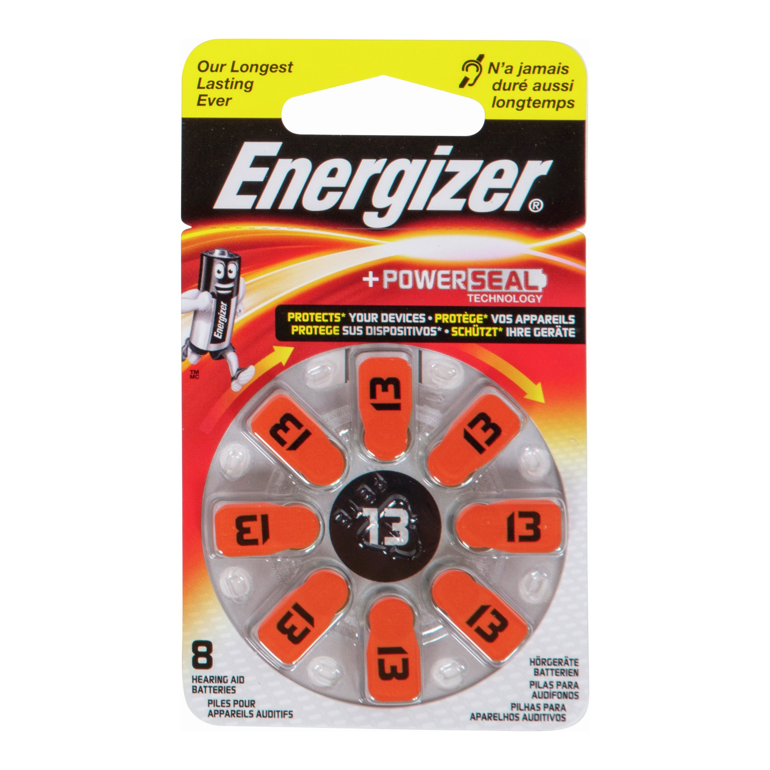 ENERGIZER HEARING AID 13 8PK-BAT632