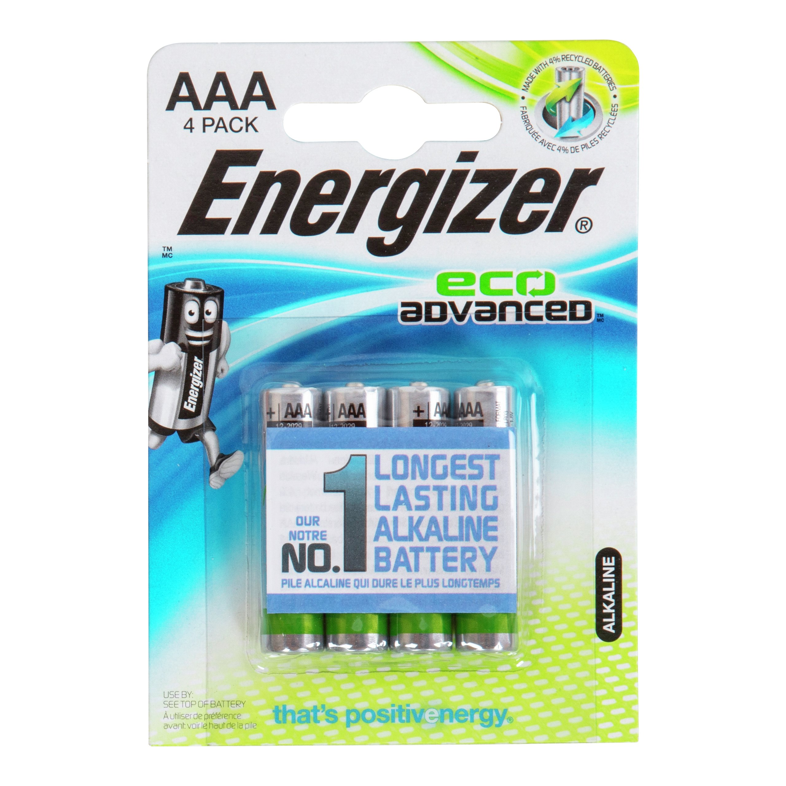 ENERGIZER ECO ADVANCED AAA/E92-BAT638
