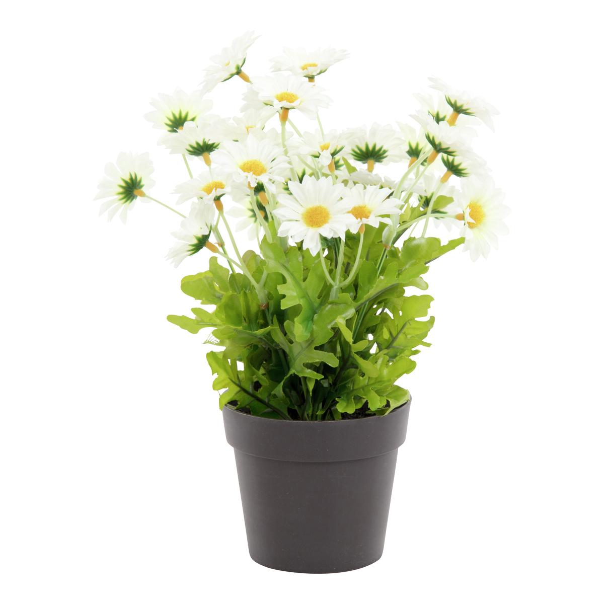 Konstgjord växt i kruka