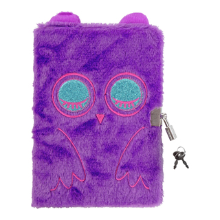 Furry dagbok med lås-BOK2014