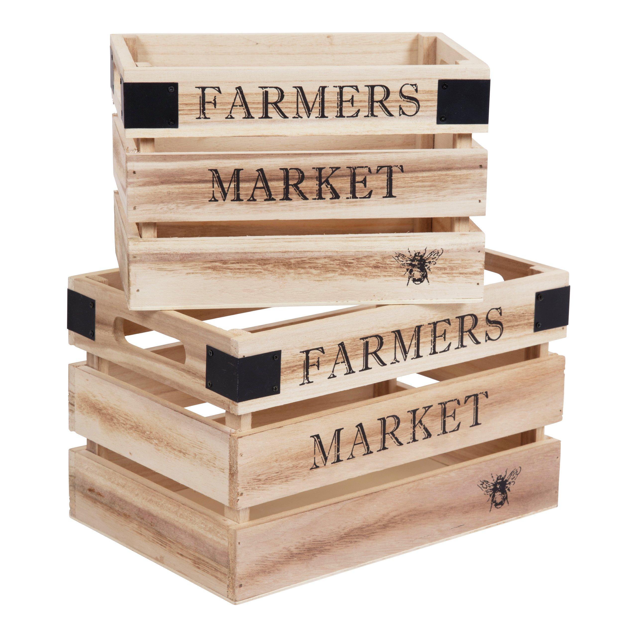 FARMER TREKASSE H18/16CM S/2-BOX309