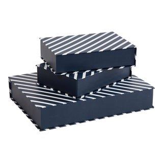 OPPBEVARINGSBOKSER GOLDEN 3STK-BOX4009