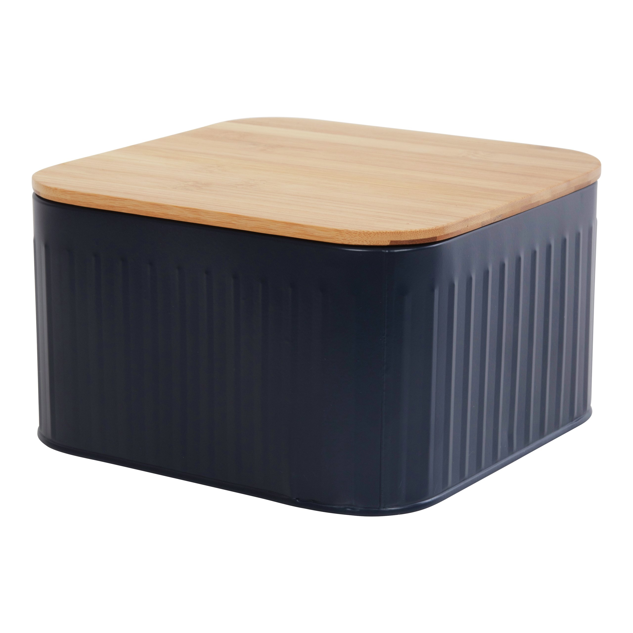 BLUE KNEKKEBRØDBOKS 11X20CM-BOX5001