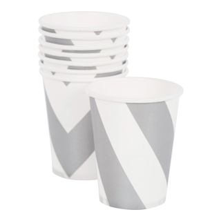 Party Pappersmugg 8-pack