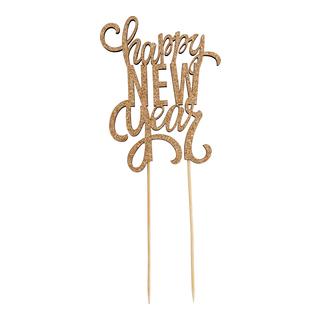 Party Kakepynt Happy New Year