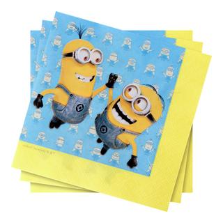 Minions Servetter 20-pack