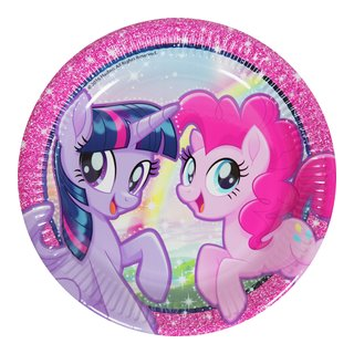 MY LITTLE PONY TALLERKEN 8PK-BUR2028