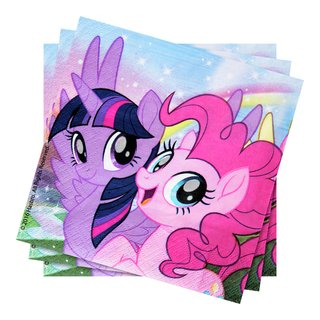MY LITTLE PONY SERVIETTER 20PK-BUR2030