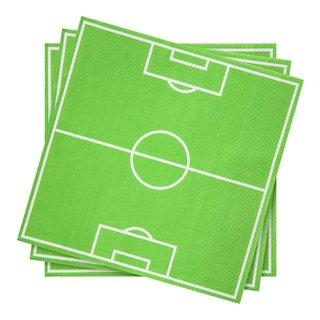 FOTBALLBANE SERVIETT 20PK-BUR2040