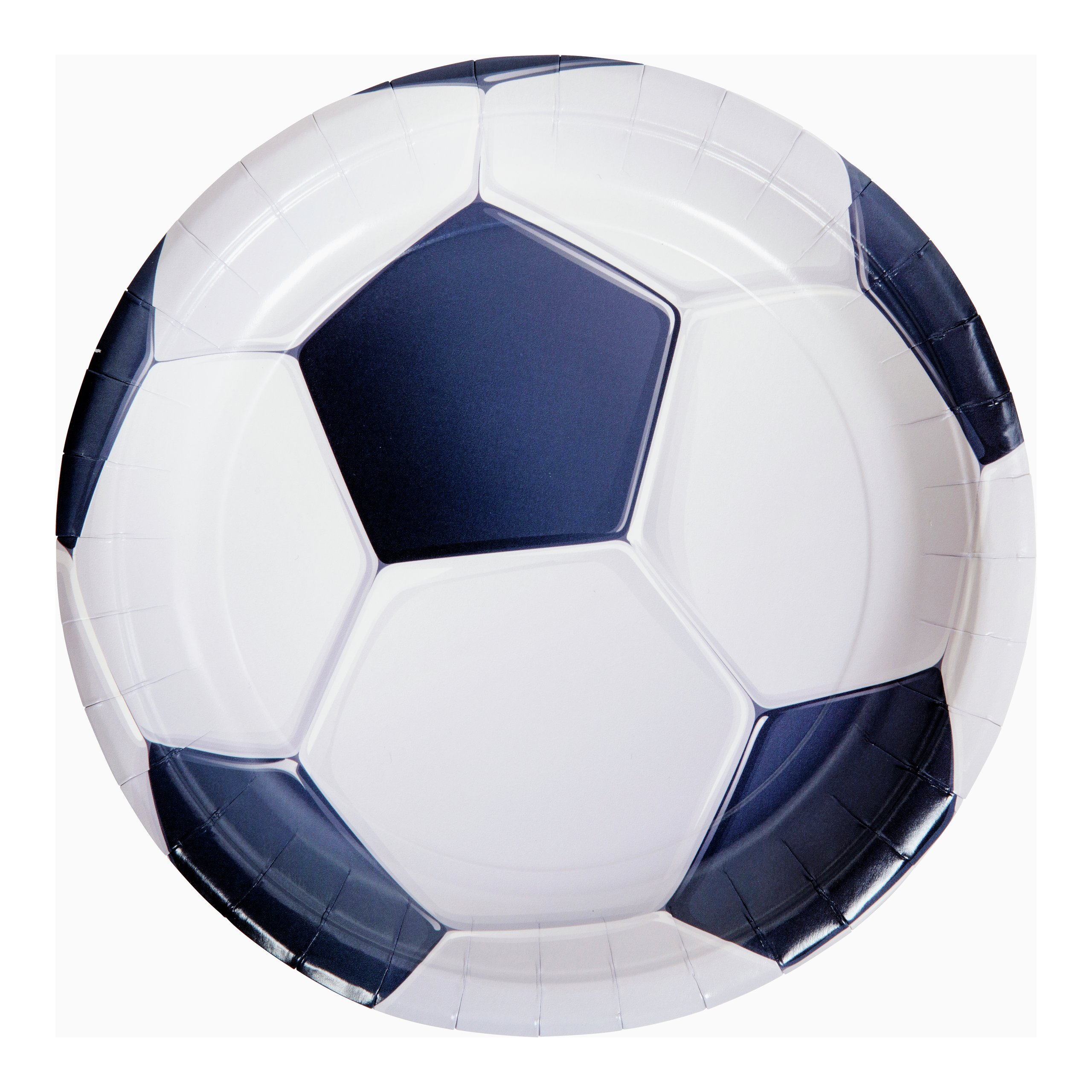 FOTBALL TALLERKEN 8PK Ø22,5CM-BUR2042