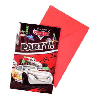 Invitasjonskort 6pk-BUR551