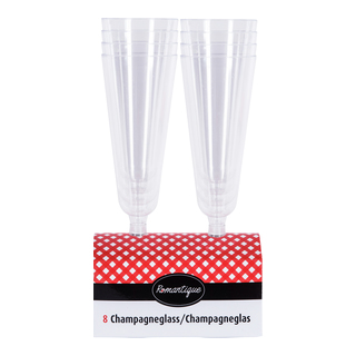 GLASS CHAMPAGNE 8PK-CAM902