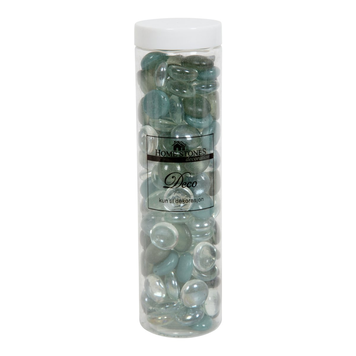 Dekorstein glass grønn mix-DEK7006