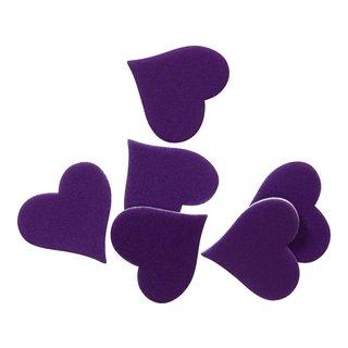 Dekorhjerte lilla-DEK866