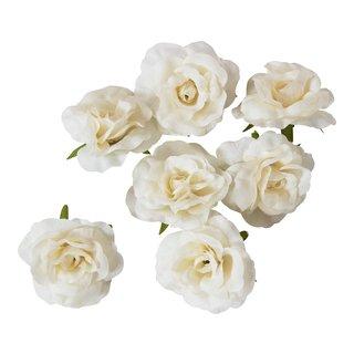 Dekor rose hvit-DEK878