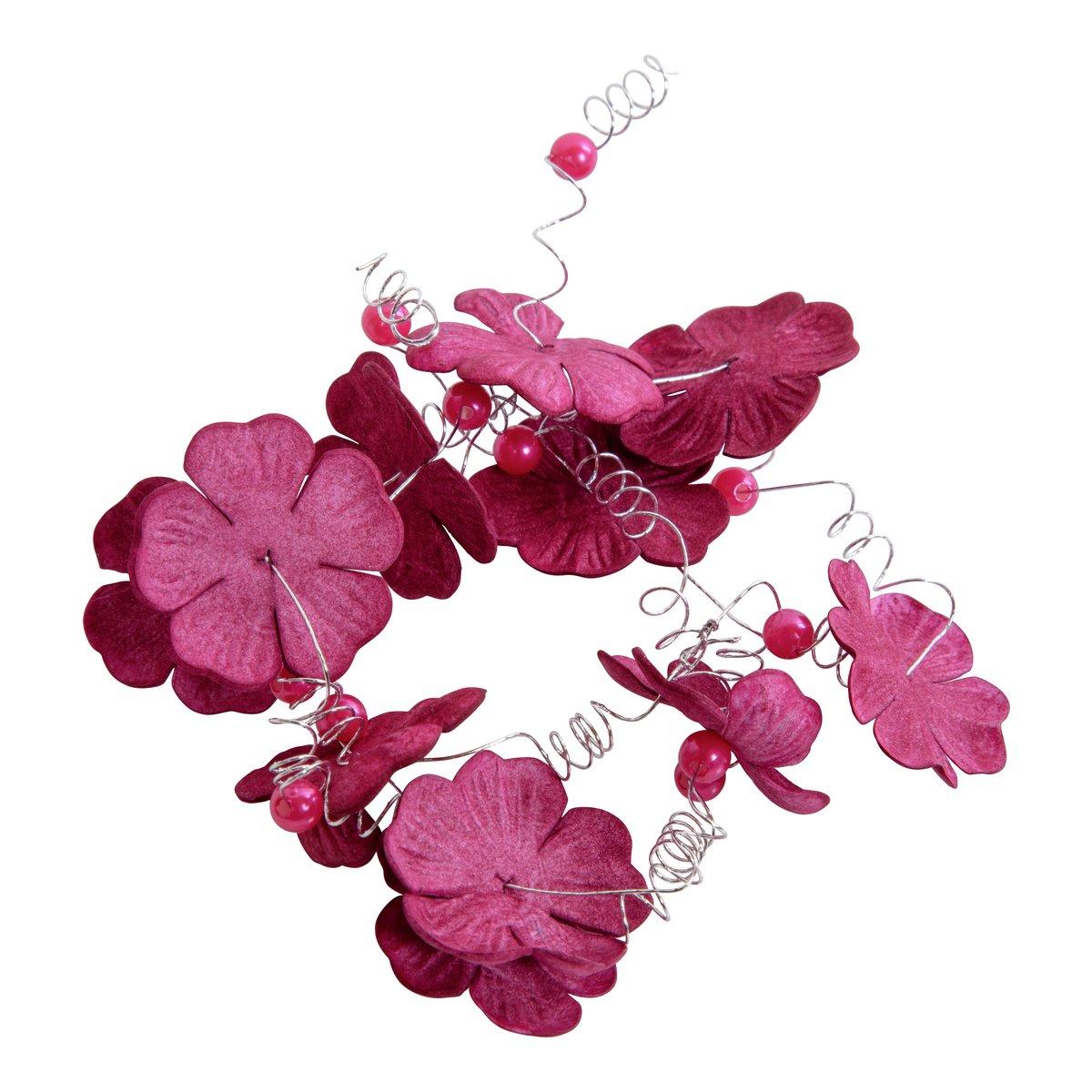 Blomster på lenke-DEK895