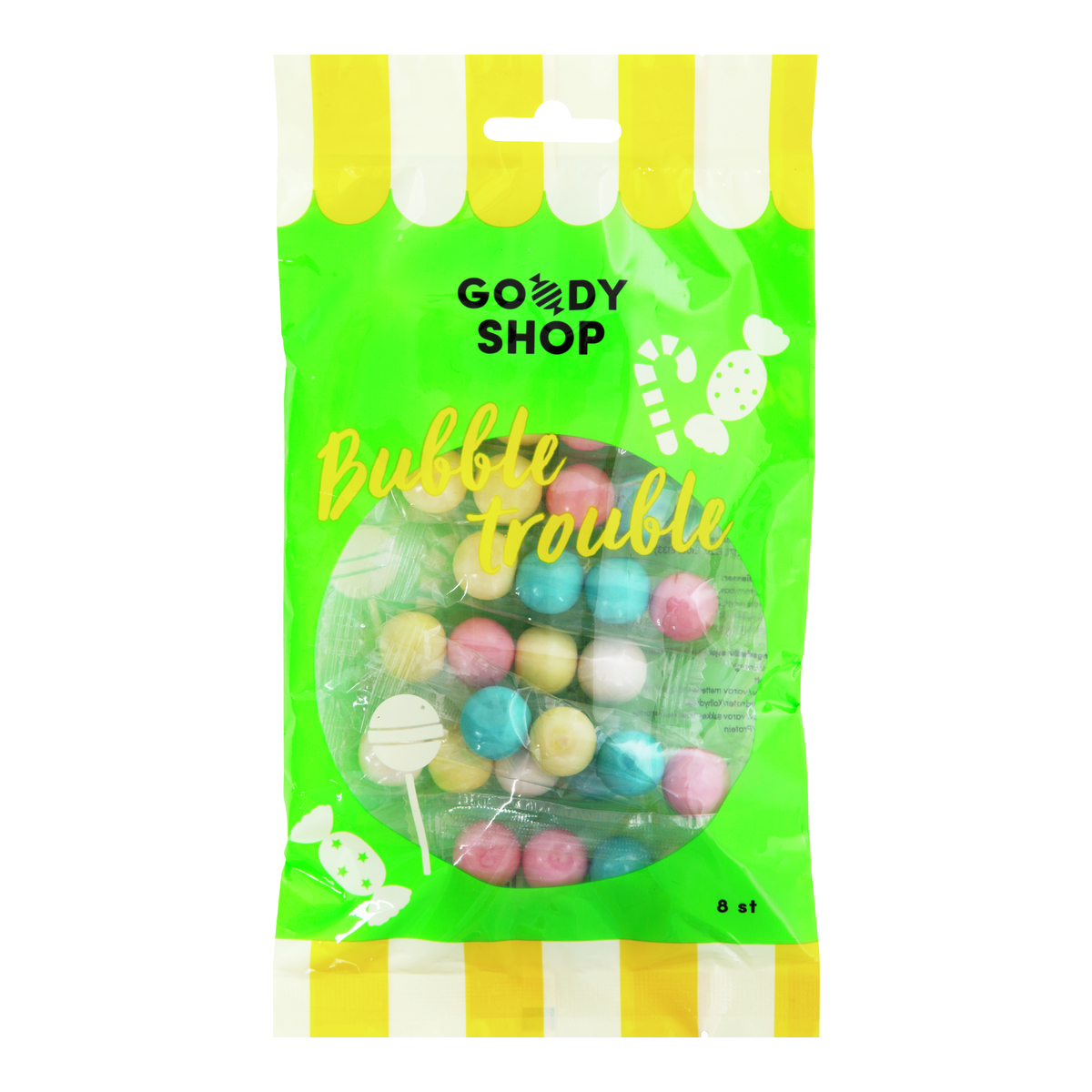 Tyggegummikulerfra Nille Goody Shop-DRO1137