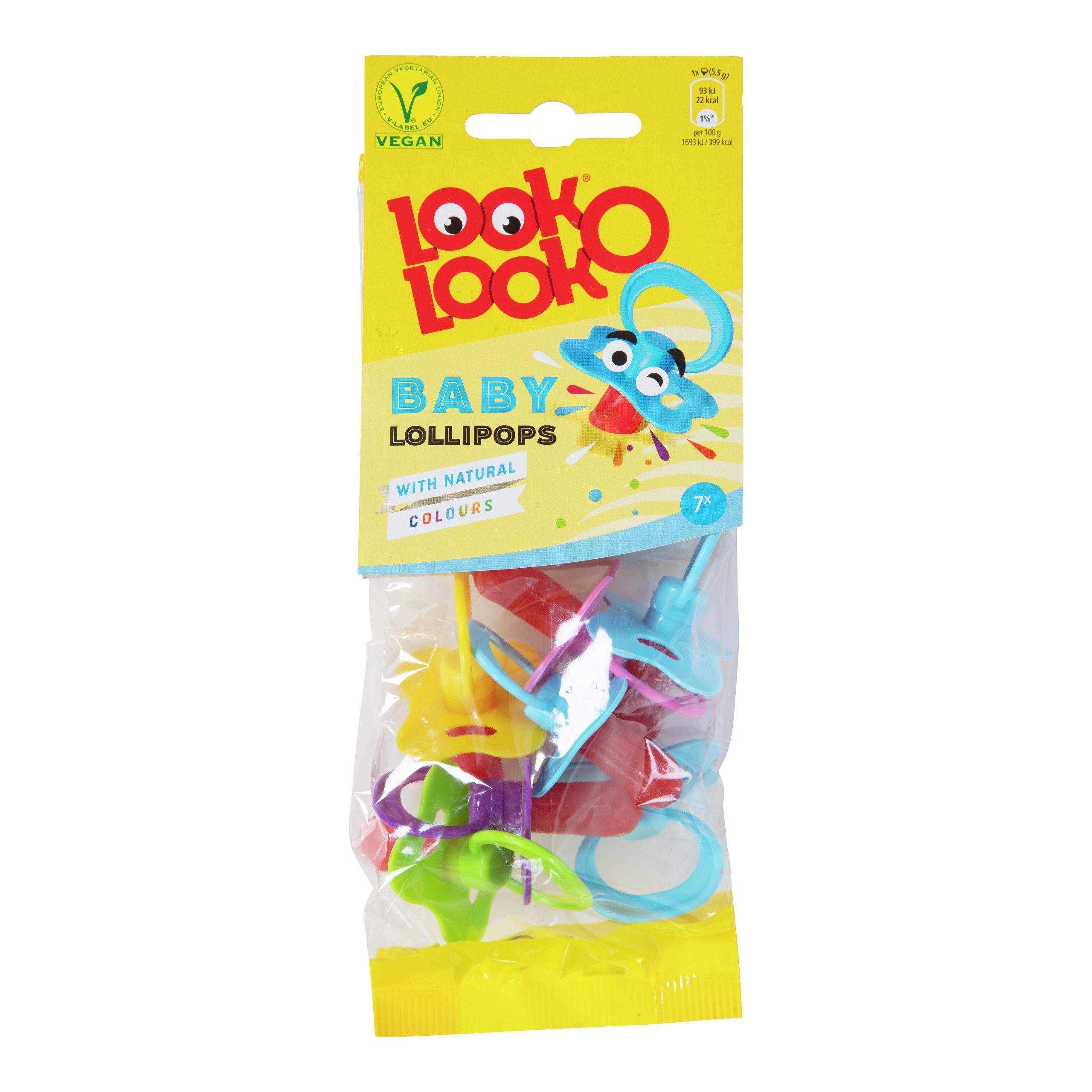 BABY LOLLIPOPS 37G LOOK-O-LOOK-DRO2019