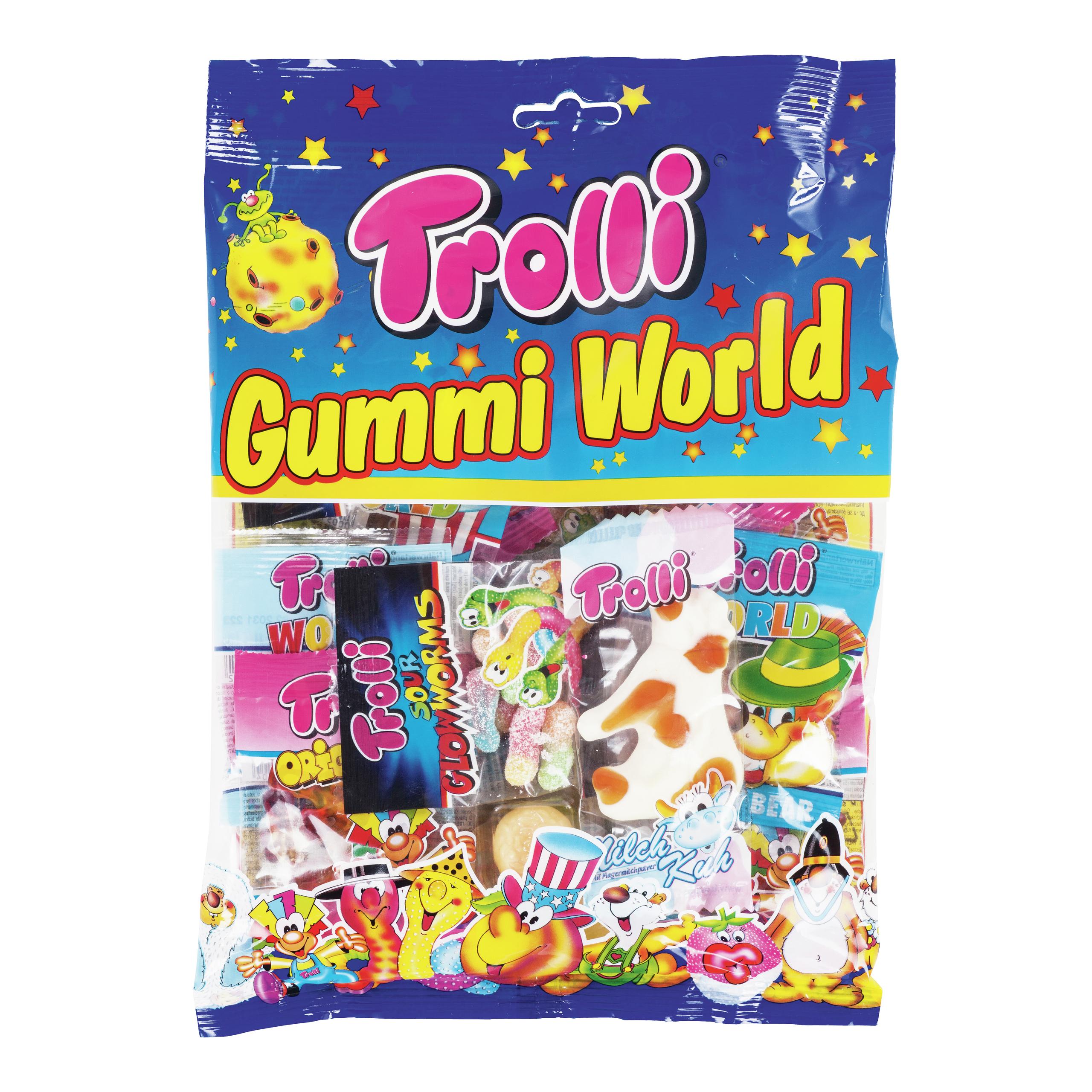TROLLI GUMMI WORLD 230G-DRO397