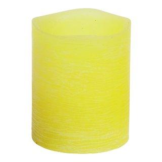 LED KUBBELYS VOKS H10CM GUL-ELM1200