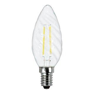 GLOW LED LYSPÆRE E14 RILLET-ELM2021