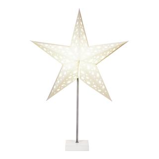 Papirstjerne på fot