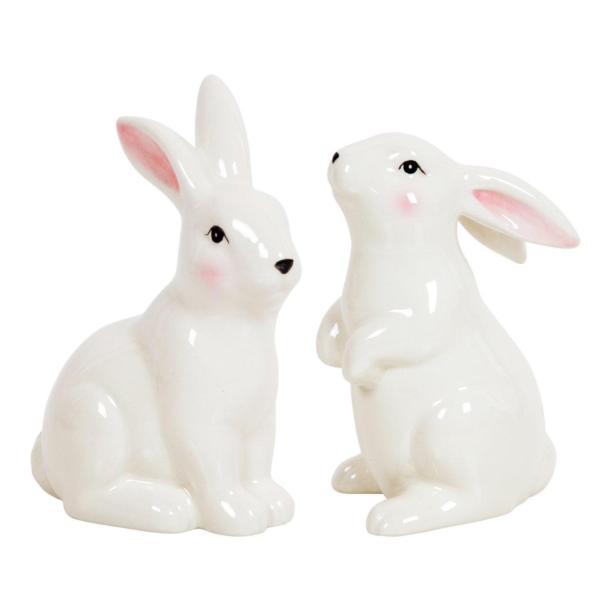 Glasert keramikk kanin-FIG078
