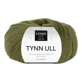 LINDE TYNN ULL 315 OLIVENGRØNN-GAR5315