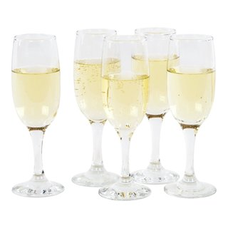 BASIC CHAMPAGNEGLASS 185ML-GLA2002
