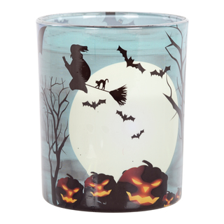LYS I GLASS H8CM HALLOWEEN 34h-HAL072